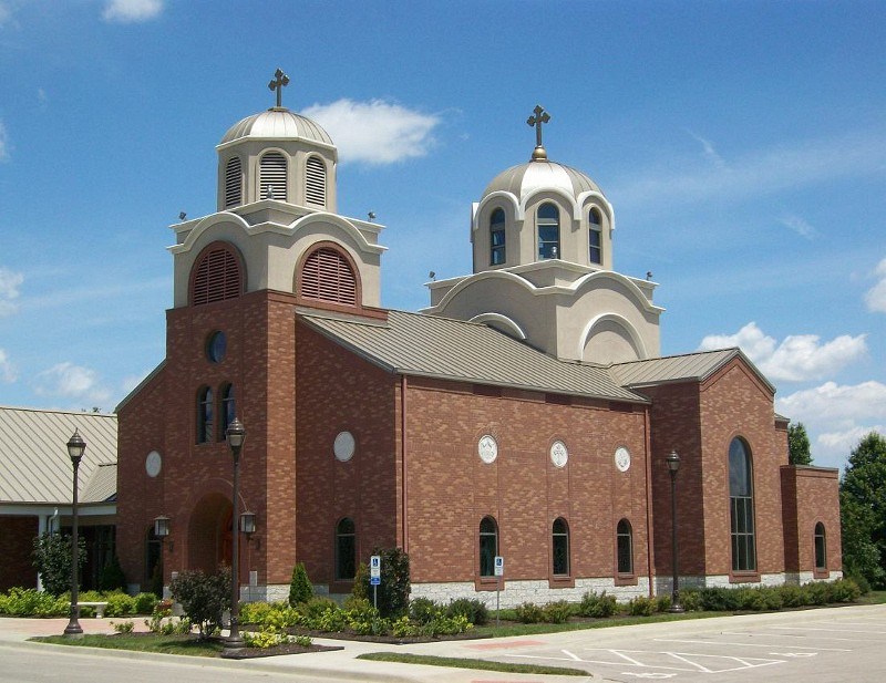 The current church building was constructed in 2006 and is located near College Boulevard and Pflumm Road in Lenexa, Kansas.